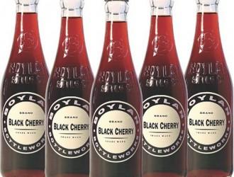 Boylan's Black Cherry Soda