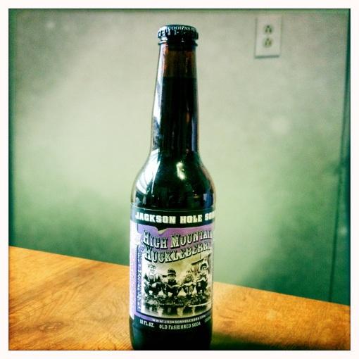 High Mountain Huckleberry soda